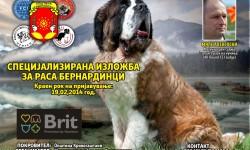Ревијална изложба за сите раси на кучиња и Специјализирана изложба за расата Бернардинец