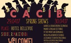 2xCACIB Spring shows in Skopje