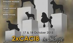 Cynological weekend – 17 & 18.10.2015, Skopje